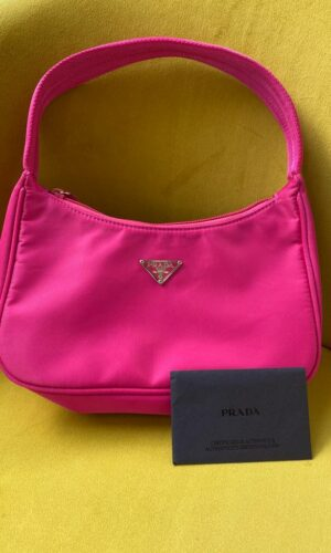 Vintage Prada Hobo Hot Pink Bag